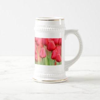 Red Tulips Photo Mugs