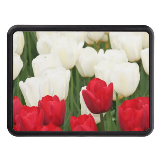 Red Tulips Trailer Hitch Covers