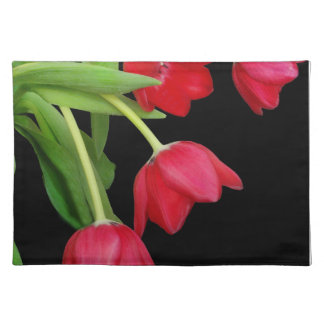 RED TULIPS PLACE SETTING PLACEMAT
