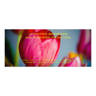 Red Tulips • Save the Date Announcement