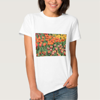 Red tulips tshirts