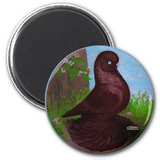 Red Tumbler Circle 6 Cm Round Magnet