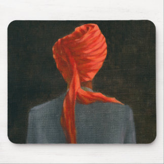 Red turban 2004 mouse mat