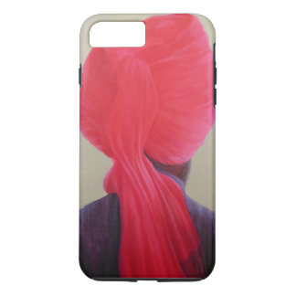 Red Turban Purple Jacket iPhone 8 Plus/7 Plus Case
