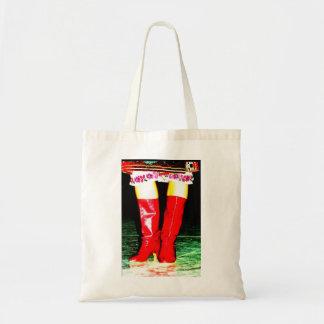 Red Ukrainian Boots