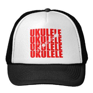 RED UKULELE CAP