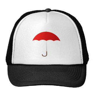 Red Umbrella Hats