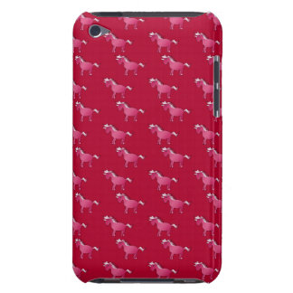 Red unicorn pattern barely there iPod cover