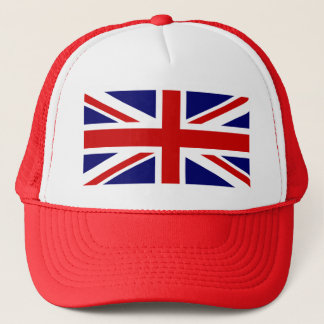 Red Union Jack Baseball Cap