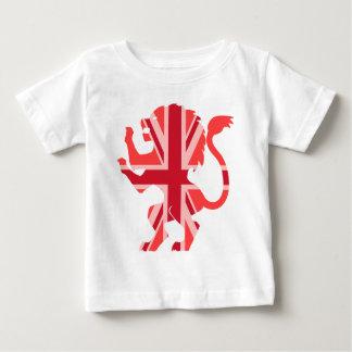 Red Union Jack Lion T-shirt