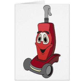 Red Vacuum Cleaner Card