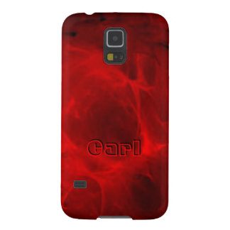 Red Veining Samsung Galaxy S5 case for Carl