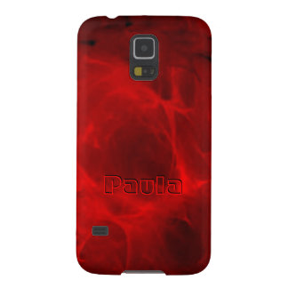 Red Veining Samsung Galaxy S5 case for Paula
