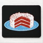 Red Velvet Cake Mouse Pad
