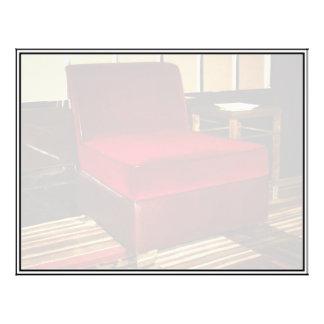 Red Velvet Chair Flyers
