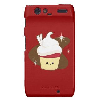 Red Velvet Cupcake Motorola Droid RAZR Cases