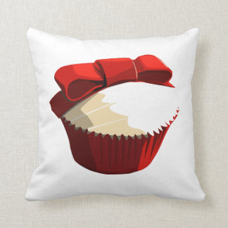 Red velvet cupcake cushion