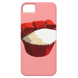 Red velvet cupcake with bow iPhone4 case iPhone 5 Cases