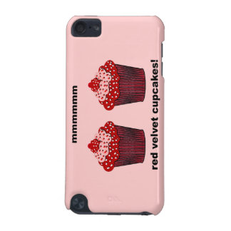 red velvet cupcakes iPod touch (5th generation) cover