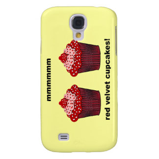 red velvet cupcakes samsung galaxy s4 cover