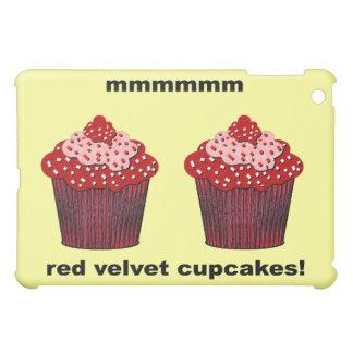 red velvet cupcakes iPad mini covers