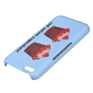 red velvet cupcakes iPhone 5C case