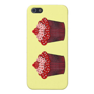 red velvet cupcakes cover for iPhone 5