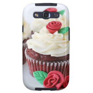 Red Velvet Cupcakes Roses Galaxy SIII Covers