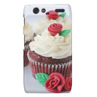 Red Velvet Cupcakes Roses Droid RAZR Case