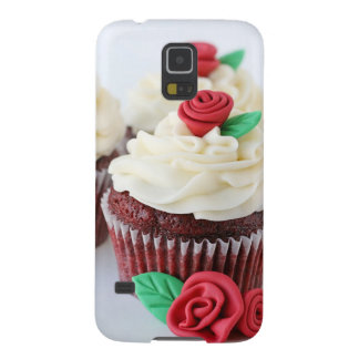 Red Velvet Cupcakes Roses Galaxy S5 Case