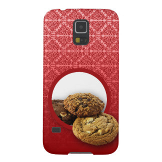 Red Velvet Damask Desserts Business Galaxy S5 Cover