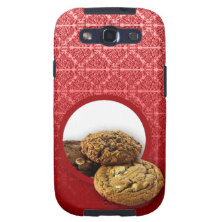 Red Velvet Damask Desserts Business Galaxy S3 Case