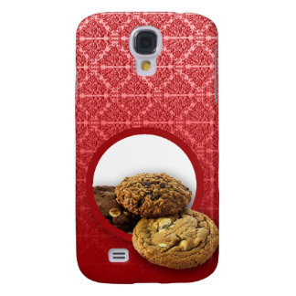 Red Velvet Damask Desserts Business Galaxy S4 Case
