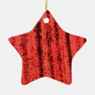 Red velvet design christmas ornament