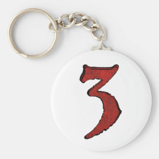 Red Velvet Holiday Number Series. Basic Round Button Key Ring