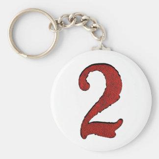 Red Velvet Holiday Number Series. Key Ring