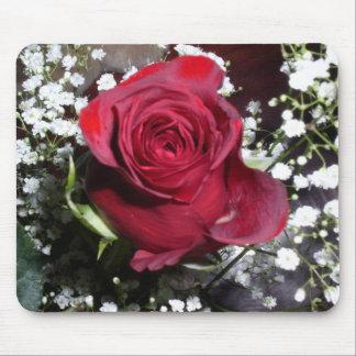 Red Velvet Rose Mousepad