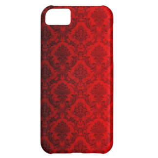 Red Victorian Damask iPhone 5C Case