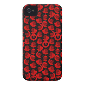 Red Video Game Arcade Buttons iPhone 4 Cover