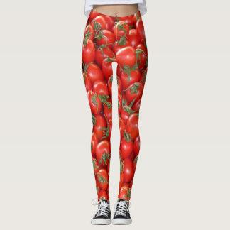 Red Vine Tomatoes Leggings