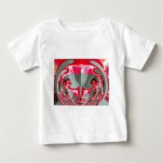 Red Vintage Hakuna Matata round cool gifts. Baby T-Shirt