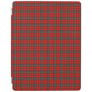 Red Vintage Plaid Pattern iPad Cover
