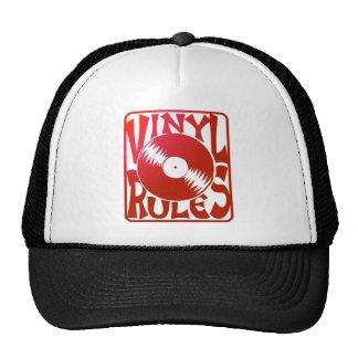 Red Vinyl Rules, ok? Cap