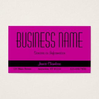 Red Violet Business Card
