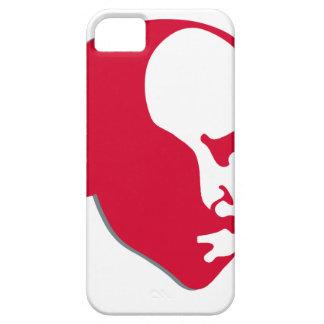 Red Vladimir Ilich Lenin stencil silhuette iPhone 5 Case