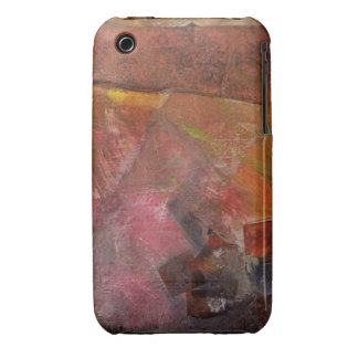 Red Wall Paint iPhone 3 Case-Mate Cases