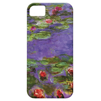 Red Water Lilies Claude Monet Fine Art iPhone 5 Case