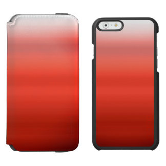 Red Watercolor Ombre Incipio Watson™ iPhone 6 Wallet Case