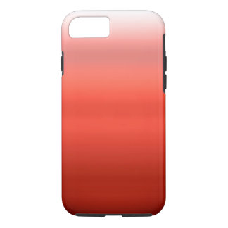 Red Watercolor Ombre iPhone 7 Case