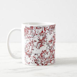 Red Waterwash Designer Mug 1